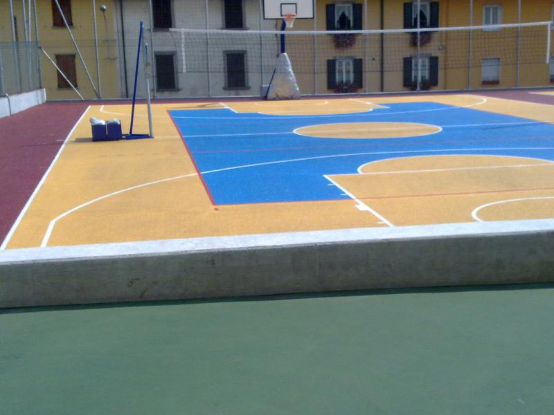 resine sintetiche per pavimentazioni civili e sportive