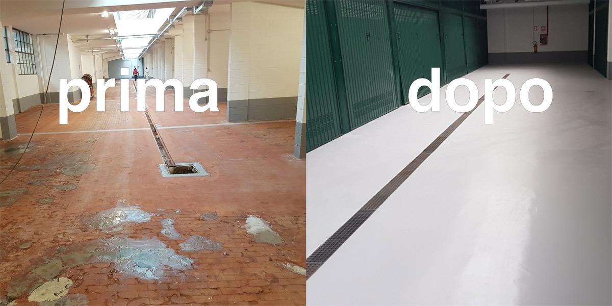 Azienda specializzata ripristino riparazione pavimenti calcestruzzo di capannoni garage e piazzali - Garage pavimento ...