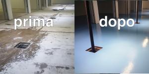 ripristino pavimenti danneggiati umidità rifacimento